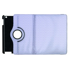 Zigzag Chevron Thin Pattern Apple Ipad 2 Flip 360 Case by Nexatart