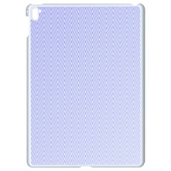 Zigzag Chevron Thin Pattern Apple Ipad Pro 9 7   White Seamless Case by Nexatart
