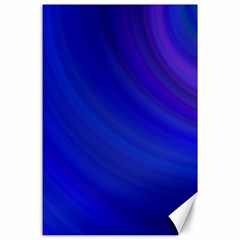 Blue Background Abstract Blue Canvas 24  X 36  by Nexatart