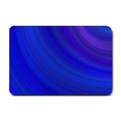 Blue Background Abstract Blue Small Doormat  by Nexatart