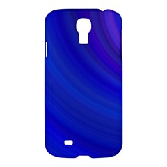 Blue Background Abstract Blue Samsung Galaxy S4 I9500/i9505 Hardshell Case by Nexatart