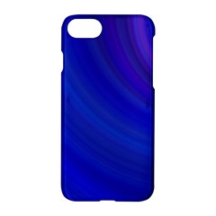 Blue Background Abstract Blue Apple Iphone 7 Hardshell Case