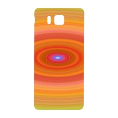 Ellipse Background Orange Oval Samsung Galaxy Alpha Hardshell Back Case
