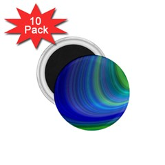 Space Design Abstract Sky Storm 1 75  Magnets (10 Pack)