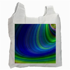Space Design Abstract Sky Storm Recycle Bag (one Side) by Nexatart