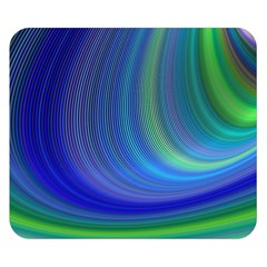 Space Design Abstract Sky Storm Double Sided Flano Blanket (small)