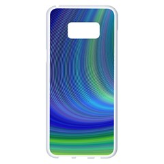 Space Design Abstract Sky Storm Samsung Galaxy S8 Plus White Seamless Case