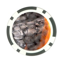 Fireplace Flame Burn Firewood Poker Chip Card Guard (10 Pack) by Nexatart