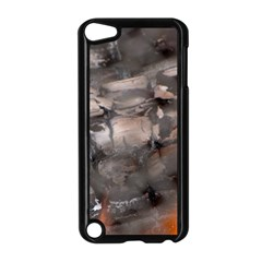 Fireplace Flame Burn Firewood Apple Ipod Touch 5 Case (black) by Nexatart