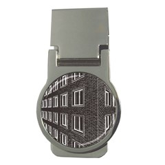 Graphics House Brick Brick Wall Money Clips (round)  by Nexatart