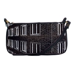 Graphics House Brick Brick Wall Shoulder Clutch Bags