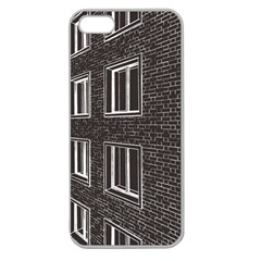 Graphics House Brick Brick Wall Apple Seamless Iphone 5 Case (clear)