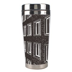 Graphics House Brick Brick Wall Stainless Steel Travel Tumblers by Nexatart
