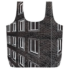 Graphics House Brick Brick Wall Full Print Recycle Bags (l)