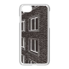 Graphics House Brick Brick Wall Apple Iphone 7 Seamless Case (white) by Nexatart