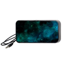 Space All Universe Cosmos Galaxy Portable Speaker (black)
