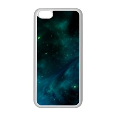 Space All Universe Cosmos Galaxy Apple Iphone 5c Seamless Case (white) by Nexatart