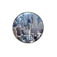 Manhattan New York City Hat Clip Ball Marker (4 Pack) by Nexatart