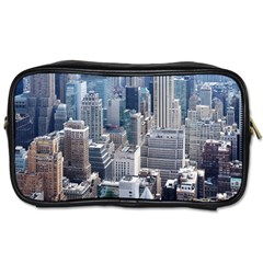 Manhattan New York City Toiletries Bags by Nexatart