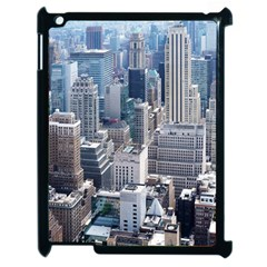 Manhattan New York City Apple Ipad 2 Case (black) by Nexatart