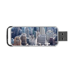 Manhattan New York City Portable Usb Flash (two Sides) by Nexatart