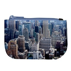 Manhattan New York City Large Coin Purse
