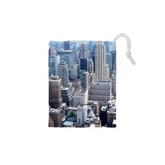 Manhattan New York City Drawstring Pouches (xs)