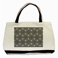 Seamless Weave Ribbon Hexagonal Basic Tote Bag