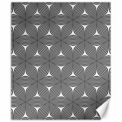Seamless Weave Ribbon Hexagonal Canvas 20  X 24