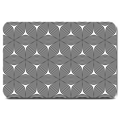 Seamless Weave Ribbon Hexagonal Large Doormat
