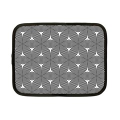 Seamless Weave Ribbon Hexagonal Netbook Case (small)