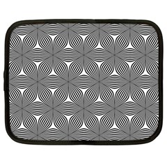 Seamless Weave Ribbon Hexagonal Netbook Case (large)