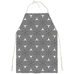Seamless Weave Ribbon Hexagonal Full Print Aprons