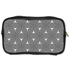 Seamless Weave Ribbon Hexagonal Toiletries Bags