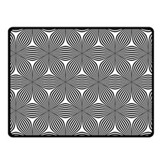 Seamless Weave Ribbon Hexagonal Fleece Blanket (small)