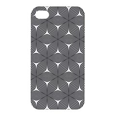 Seamless Weave Ribbon Hexagonal Apple Iphone 4/4s Hardshell Case