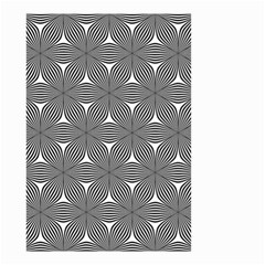 Seamless Weave Ribbon Hexagonal Small Garden Flag (two Sides)