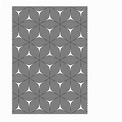 Seamless Weave Ribbon Hexagonal Large Garden Flag (two Sides)