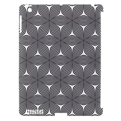 Seamless Weave Ribbon Hexagonal Apple Ipad 3/4 Hardshell Case (compatible With Smart Cover)