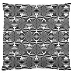 Seamless Weave Ribbon Hexagonal Large Cushion Case (two Sides)