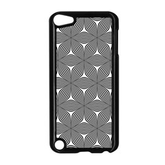 Seamless Weave Ribbon Hexagonal Apple Ipod Touch 5 Case (black)