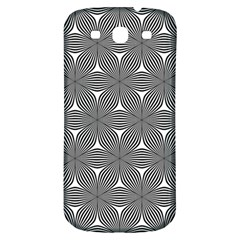 Seamless Weave Ribbon Hexagonal Samsung Galaxy S3 S Iii Classic Hardshell Back Case