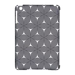 Seamless Weave Ribbon Hexagonal Apple Ipad Mini Hardshell Case (compatible With Smart Cover)
