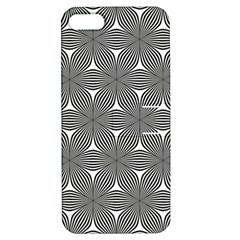 Seamless Weave Ribbon Hexagonal Apple Iphone 5 Hardshell Case With Stand
