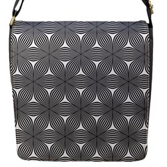 Seamless Weave Ribbon Hexagonal Flap Messenger Bag (s)