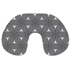 Seamless Weave Ribbon Hexagonal Travel Neck Pillows