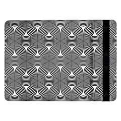 Seamless Weave Ribbon Hexagonal Samsung Galaxy Tab Pro 12 2  Flip Case