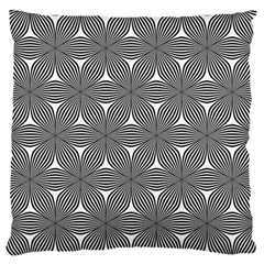 Seamless Weave Ribbon Hexagonal Large Flano Cushion Case (two Sides)