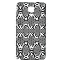 Seamless Weave Ribbon Hexagonal Galaxy Note 4 Back Case