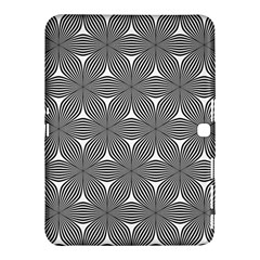 Seamless Weave Ribbon Hexagonal Samsung Galaxy Tab 4 (10 1 ) Hardshell Case